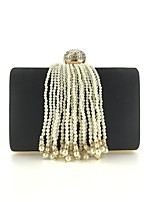 cheap -Women's Bags Velvet Evening Bag Crystals / Tassel Purple / Silver / Royal Blue