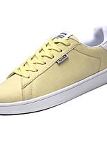 Недорогие -Муж. Полотно Осень Удобная обувь Кеды Желтый / Зеленый / Синий