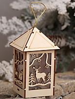 economico -Ornamenti di Natale Vacanza di legno Originale Decorazione natalizia