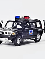 Недорогие -Игрушечные машинки Полицейская машинка Транспорт / Автомобиль Вид на город / Cool / утонченный Металлический сплав Все Детские / Для подростков Подарок 1 pcs