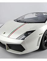 baratos -Carro com CR Rastar 52700 4CH 2.4G Carro 1:10 8 km/h KM / H Luzes / Controle Remoto