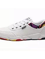 Недорогие -Муж. Комфортная обувь Полотно Весна лето На каждый день Кеды Белый / Черный / Бежевый