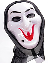 cheap -Holiday Decorations Halloween Decorations Halloween Masks / Halloween Entertaining Decorative / Cool White 1pc