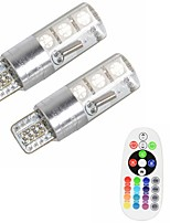 Недорогие -2pcs T10 Автомобиль Лампы 3 W SMD 5050 500 lm 6 Светодиодная лампа Лампа поворотного сигнала Назначение