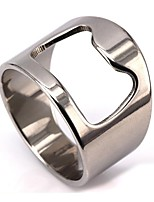 cheap -Men's Stylish / Hollow Out Ring - Stainless Creative Stylish, Unique Design, Trendy 6 / 7 / 8 Silver For Street / Bar