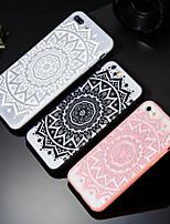 Недорогие -Кейс для Назначение Apple iPhone X / iPhone 8 Plus С узором Кейс на заднюю панель Мандала Твердый ПК для iPhone X / iPhone 8 Pluss / iPhone 8