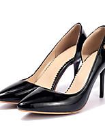 Недорогие -Жен. Балетки Лакированная кожа Весна & осень Обувь на каблуках На шпильке Черный / Красный / Розовый