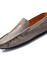 cheap -Men's Moccasin PU(Polyurethane) Fall Loafers & Slip-Ons Orange / Red / Khaki