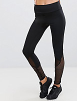 preiswerte -Damen Alltag Grundlegend Legging - Einfarbig Mittlere Taillenlinie