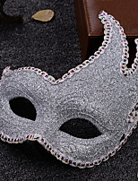 cheap -Holiday Decorations Halloween Decorations Halloween Masks Party / Cool Silver 1pc
