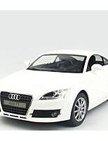 Недорогие -Машинка на радиоуправлении Rastar 30600 10.2 CM 2.4G Автомобиль 1:14 8 km/h КМ / Ч Подсветка / На пульте управления