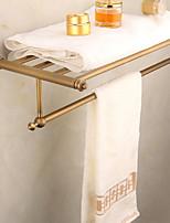 Недорогие -Полка для ванной Новый дизайн Современный Латунь 1шт Односпальный комплект (Ш 150 x Д 200 см) На стену