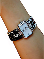 cheap -Women's Wrist Watch Quartz Chronograph Casual Watch Lovely Plastic Band Analog Bangle Elegant Black / White / Red - Red Black / White Ivory / Imitation Diamond