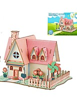cheap -Wooden Puzzle / Logic & Puzzle Toy Garden Theme / Fairytale Theme / Sunflower School / Professional Level / Stress and Anxiety Relief Wooden 1 pcs Teen / Children's All Gift