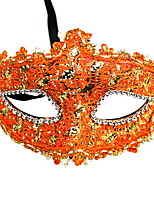 cheap -Holiday Decorations Halloween Decorations Halloween Masks Decorative / Cool Orange 1pc