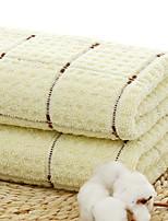 cheap -Superior Quality Wash Cloth, Plaid / Check 100% Cotton Bathroom 1 pcs