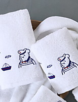 abordables -Qualité supérieure Serviette, Géométrique / Bande dessinée Polyester / Coton Salle de  Bain 2 pcs