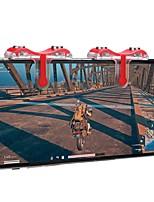 Недорогие -игровой триггер для pubg, портативный игровой триггер metal / abs 2 шт.