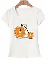 economico -T-shirt Per donna Essenziale Con stampe, Frutta