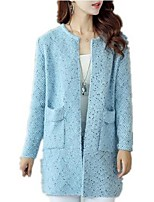 cheap -Women's Basic Cardigan - Solid Colored