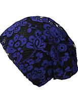 Недорогие -Жен. Классический / Праздник Широкополая шляпа - Сетка Цветочный принт