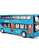 Недорогие -Игрушечные машинки Автобус Транспорт Автобус Вид на город Cool утонченный Металлический сплав Для подростков Все Мальчики Девочки Игрушки Подарок 1 pcs