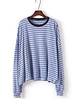 abordables -Tee-shirt Femme, Rayé - Coton