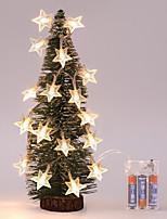 economico -ghirlanda di luci a stella con ghirlanda per decorazioni natalizie