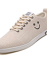 cheap -Men's Linen Fall Comfort Sneakers White / Beige / Gray