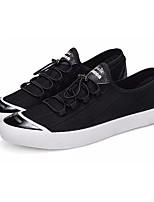 Недорогие -Муж. Эластичная ткань Лето Удобная обувь Кеды Черный / Серый