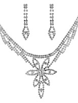 cheap -Women's Classic / Stylish Jewelry Set - Creative Classic, Sweet, Elegant Include Necklace Silver For Wedding / Party