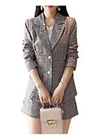 cheap -Women's Set - Solid Colored / Geometric Pant