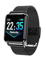 cheap -Smartwatch Q3-M for Android iOS Bluetooth Heart Rate Monitor Blood Pressure Measurement Calories Burned Distance Tracking Information Pedometer Call Reminder Sleep Tracker Sedentary Reminder