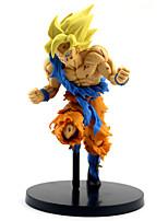 billiga -Anime Actionfigurer Inspirerad av Dragon Ball Son Goku pvc 22 cm CM Modell Leksaker Dockleksak