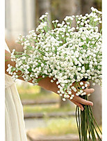 cheap -Artificial Flowers 5 Branch Classic / Single Stylish / Pastoral Style Baby Breath Tabletop Flower