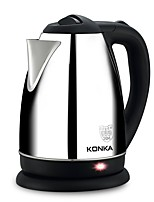 cheap -KONKA Electric Kettles Cool Stainless steel Water Ovens 220-240 V / 110-130 V 1000 W Kitchen Appliance