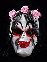 Недорогие -Праздничные украшения Украшения для Хэллоуина Маски на Хэллоуин Для вечеринок / Декоративная Белый 1шт