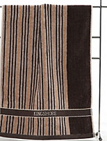 Недорогие -Высшее качество Полотенца для мытья, Полосы / волосы 100% хлопок Ванная комната 1 pcs