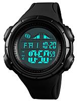 Недорогие -SKMEI Муж. Спортивные часы Наручные часы Японский Цифровой 50 m Защита от влаги Будильник Календарь PU Группа Цифровой На каждый день Мода Черный / Зеленый - Черный Зеленый Синий / Один год
