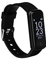 cheap -Smart Bracelet Smartwatch CB-601+ for iOS / Android Heart Rate Monitor / Blood Pressure Measurement / Calories Burned / Long Standby / Touch Screen Timer / Pedometer / Call Reminder / Sleep Tracker