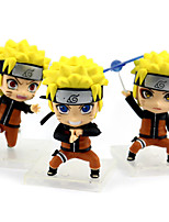 Недорогие -Аниме Фигурки Вдохновлен Наруто Naruto Uzumaki ПВХ 9 cm См Модель игрушки игрушки куклы