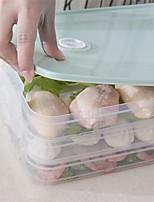 Недорогие -Кухонная организация Коробки для хранения / Хранение продуктов питания / Хранение сыпучих продуктов Пластик Аксессуар для хранения 1 комплект