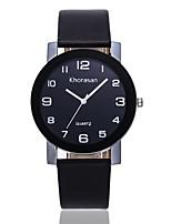 cheap -Women's Dress Watch / Wrist Watch Chinese Casual Watch PU Band Casual / Fashion Black / Blue / Red