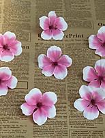 baratos -Flores artificiais 50 Ramo Clássico / Solteiro (L150 cm x C200 cm) Estiloso / Pastoril Estilo Hortênsia / Sakura Flor de Mesa