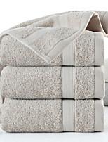 abordables -Qualité supérieure Serviette, Géométrique Polyester / Coton Salle de  Bain 3 pcs
