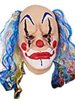 Недорогие -Праздничные украшения Украшения для Хэллоуина Маски на Хэллоуин / Хэллоуин Развлекательный Декоративная / Cool Синий 1шт