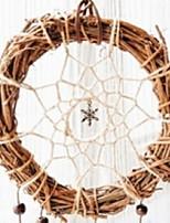 Недорогие -Рождественские украшения Праздник деревянный Круглый Оригинальные Рождественские украшения