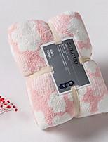 abordables -Qualité supérieure Serviette de bain, Rayé / Géométrique Polyester / Coton Salle de  Bain 1 pcs