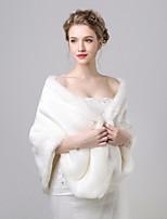 cheap -Sleeveless Silk Wedding / Birthday Women's Wrap With Solid Shawls