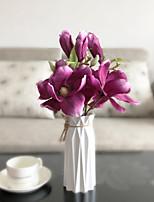 Недорогие -Искусственные Цветы 1 Филиал Классический Модерн / европейский Орхидеи Букеты на стол